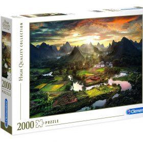 لعبة تطبيقات 2000 قطعة CLEMENTONI - View Of China