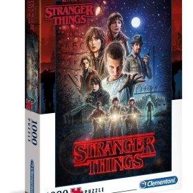 لعبة تطبيقات  1000 قطعة CLEMENTONI - Netflix Stranger Things