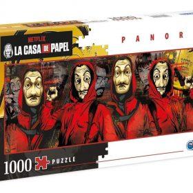 لعبة تطبيقات 1000  قطعة CLEMENTONI - Panorama La Casa De Papel