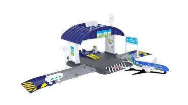 لعبة محطة الصيانة مع طائرة واحدة MAJORETTE - Airport Hangar+1 airplane