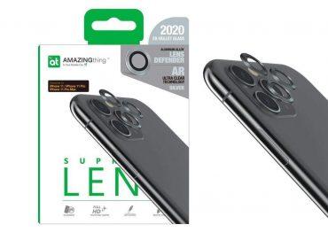كفر AMAZINGTHING - AT SUPREME LENS DEFENDER IPHONE 11 3D CORNING LENS - فضي