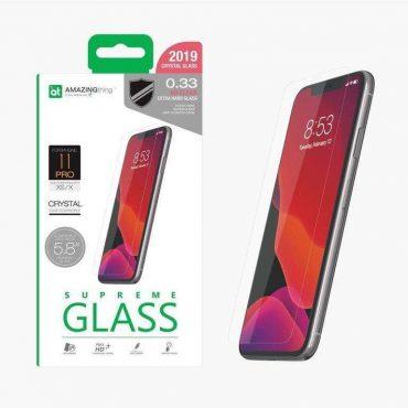 "شاشة حماية AMAZINGTHING - AT IPHONE XI 5.8"" 2019 0.3M GLASS (CRYSTAL)"
