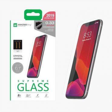 "شاشة حماية AMAZINGTHING - AT IPHONE XI 6.1"" 2019 0.3M GLASS (CRYSTAL)"