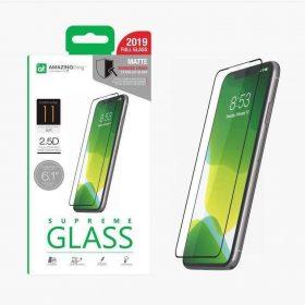 "شاشة حماية AMAZINGTHING - AT IPHONE XI 5.8"" 0.3M 2.5D MATTE GLASS -  أسود"