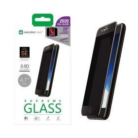 شاشة حماية AMAZINGTHING - AT IPHONE SE 2.75D PRIVACY F.COV. ANTI-DUST FILTER GLASS
