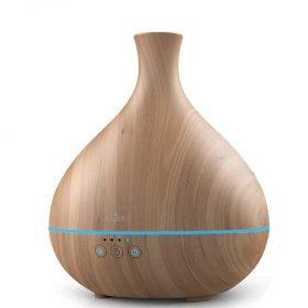 مرطب هواء 500 ملم من Anjou - فخارة خشبية