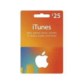 بطاقة Apple - iTunes Card $25