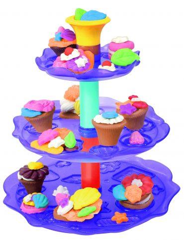 لعبة عجينة الكاب كيك SIMBA - A&F Cupcake Tower
