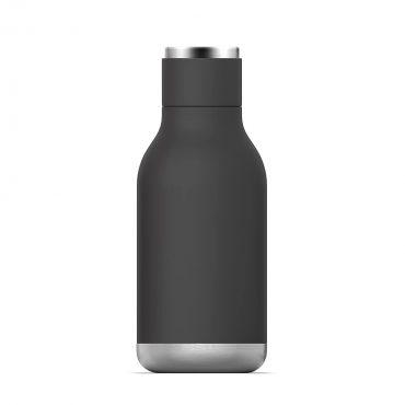 زجاجة ماء Asobu - Stainless Steel Water Bottle 16 Ounce -  أسود