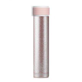 زجاجة ASOBU - Skinny Mini 8oz Stainless Steel Insulated Water Bottle - Nude