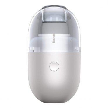 المكنسة الكهربائية الصغيرة Baseus C2 Desktop Capsule Vacuum Cleaner بيضاء