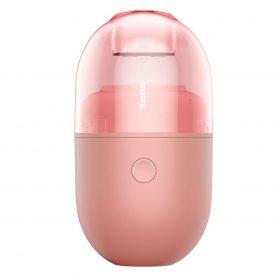 المكنسة الكهربائية الصغيرة Baseus C2 Desktop Capsule Vacuum Cleaner اللون الوردي