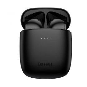 سماعة بلوتوث لاسلكية Baseus Encok True Wireless Earphones W04 Pro– أسود