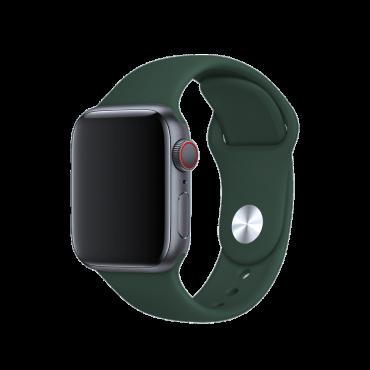 حزام ساعة BeHello - Apple Watch 38/40mm Silicone Strap - أخضر