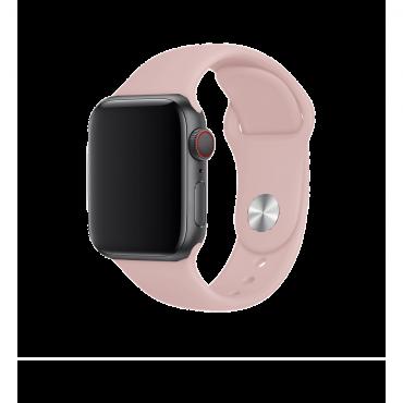 حزام ساعة BeHello - Apple Watch 38/40mm Silicone Strap - زهري