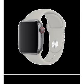 حزام ساعة BeHello - Apple Watch 38/40mm Silicone Strap - حجري رمادي