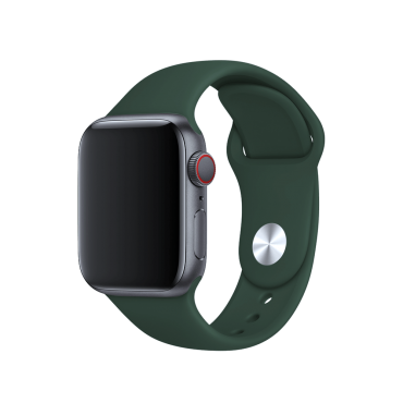 حزام ساعة BeHello - Apple Watch 42/44mm Silicone Strap - أخضر
