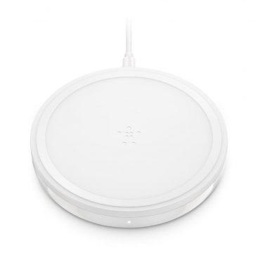 وسادة الشحن اللاسلكي BELKIN - Wireless Charging Pad 10W - أبيض