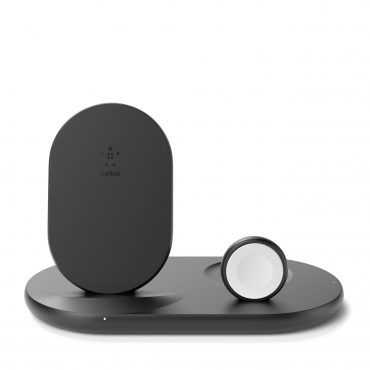 لوح شحن لاسلكي ثلاثي Belkin - Wireless Charging - 10W - أسود