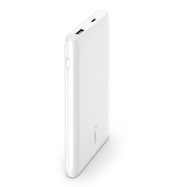 بور بانك Belkin - Powerbank 10K - Fast Charge 18W - أبيض