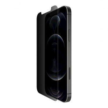 شاشة حماية Belkin - SCREENFORCE Privacy iPhone 12 Pro Max Screen Protector
