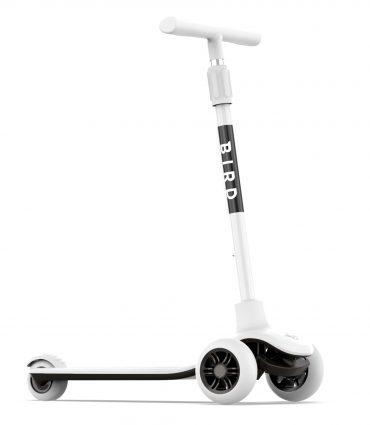سكوتر للأطفال Birdie - Kids Scooter - Foldable Kid Scooter - أبيض