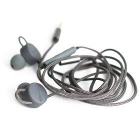 سماعة أذن Boompods - Retrobuds Wired Earbuds - رمادي