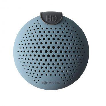 مكبر صوت بلوتوث Boompods - SoundClip Bluetooth Speaker - أزرق