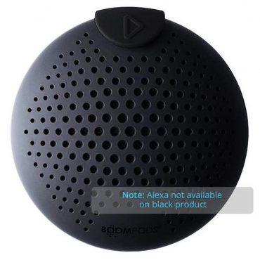 مكبر صوت بلوتوث Boompods - SoundClip Bluetooth Speaker - أسود