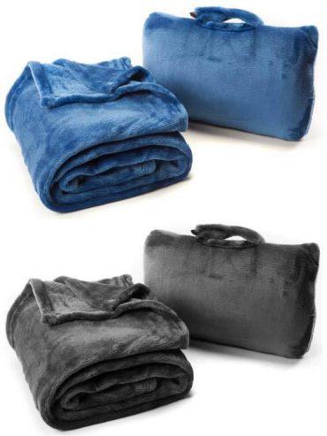 بطانية Cabeau - Fold 'n Go Blanket - أسود