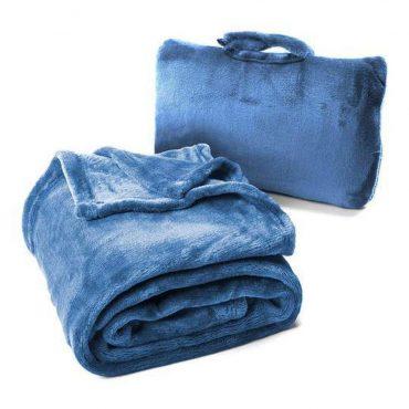 بطانية Cabeau - Fold 'n Go Blanket - أزرق