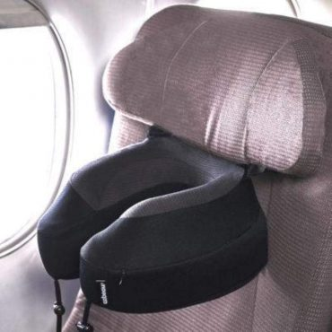 وسادة السفر المتطورة المريحة بحزام المقعد - ألوان متعددة