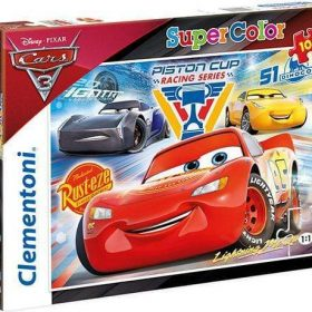 لعبة تطبيقات 104 قطعة CLEMENTONI - Puzzle Cars 3