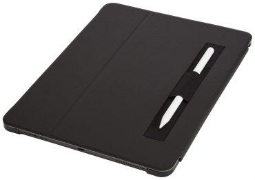 كفر Case Logic - SNAPVIEW iPad Pro 12.9 (2019) Folio Case with Apple Pencil Holder - أسود
