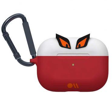 كفر سماعة Case-Mate - Airpods Pro Case - Edge The Bad Boy  - أحمر / أبيض