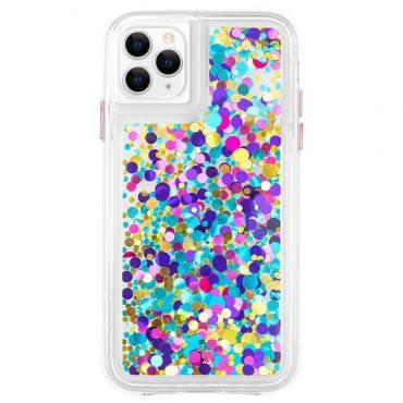 كفر موبايل Case-Mate - iPhone 11 Pro Max - دوائر ملونة/ لامعة