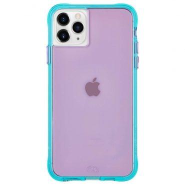 كفر موبايل Case-Mate - iPhone 11 Pro Max - بنفسجي/ فيروزي