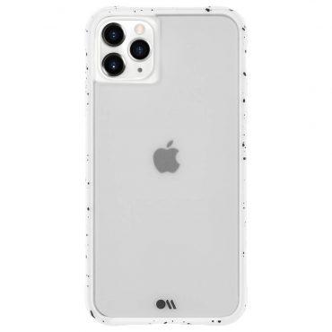 كفر موبايل Case-Mate - iPhone 11 Pro Max - أبيض منقط