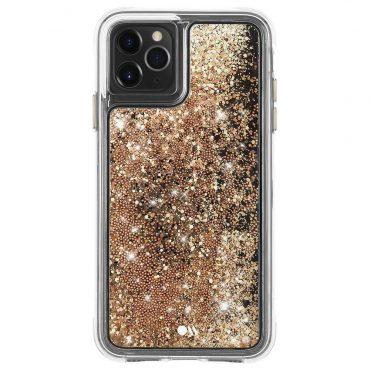 كفر موبايل Case-Mate - iPhone 11 Pro - ذهبي متلألأ