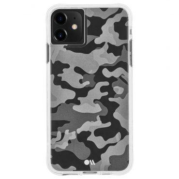 كفر موبايل Case-Mate - For iPhone 11 - جيشي / أسود ورمادي
