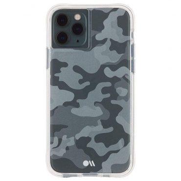 كفر موبايل Case-Mate - For iPhone 11 Pro - جيشي / أسود ورمادي