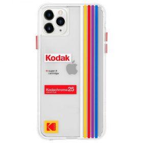 كفر موبايل Case-Mate - Kodak Case For iPhone 11 Pro - شفاف بتصميم Kodachrome Super 8