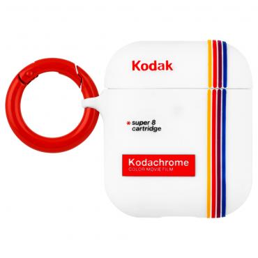 كفر سماعة Case-Mate - Kodak AirPods Pro Case - أبيض