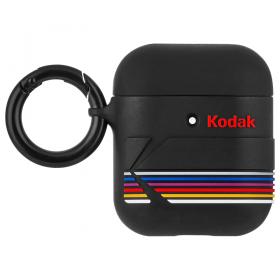 كفر سماعة Case-Mate - Kodak AirPods Pro Case - أسود غير لامع مع شعار كوداك