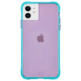 كفر موبايل Case - Mate Nina Case For iPhone 11 - بنفسجي / تركوازي