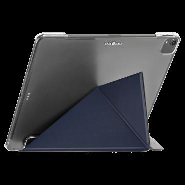 كفر Case-Mate - iPad 10.2 7Th Gen Flip Folio Case - Leather - كحلي