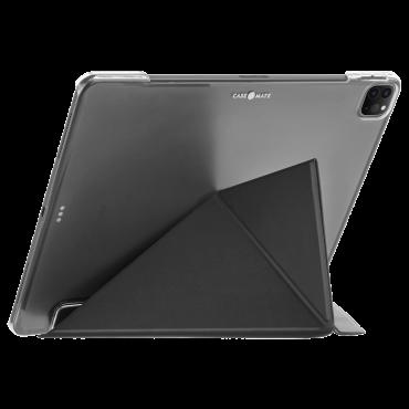 كفر Case-Mate - iPad Pro 11 2nd Gen - 2020 Multi Stand Folio Case - Leather - أسود