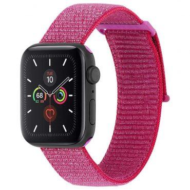 حزام ساعة Case-mate - 38-40mm Apple Watch Nylon Band - زهري