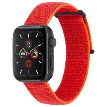حزام ساعة Case-mate - 38-40mm Apple Watch Nylon Band - برتقالي