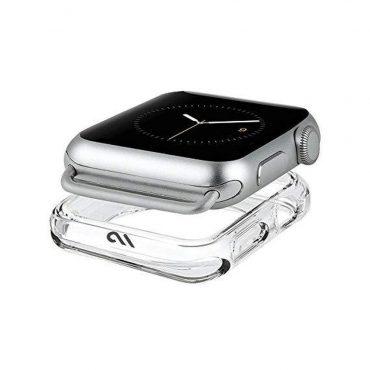حافظة ساعة يد Case-Mate - Apple Watch 38-40mm - شفافة